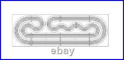 Custom HO Routed Slot Car Track KIT 4 Lane 4x12 Viper V1 AFX Tyco BSRT Wizzard