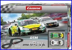 DTM Speed Duel Carrera Evolution Racing Slot Car Track Set 1/32 Scale 20025234