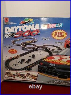 Daytona 500 Nascar HO Scale Track Set 9537 Life Like Racing 1997 SEALED BOX