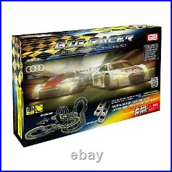 Electric Speed Racing Cars Set 2 Controllers Loop Tracks Turnover Turns Adapter
