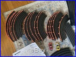 HO AFX Tomy Giant Raceway Big Block Battlers Track Slot Car Set No. 9802 Cars