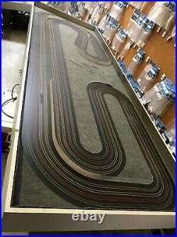 HO Racetrack Used Bucktrax 4 lane Commercial