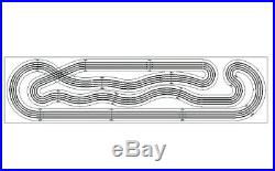 HO Routed Slot Car Track KIT 4 Lane 4' x 16' Super Champ Viper V1 AFX Tomy Tyco