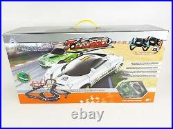 HUGE monster slot car racing track remote control high speed fits scalextric toy