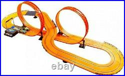 Hot Wheels Challenge Level Slot Car Track Set 632cm Ages 5+ Toy Race Large Big