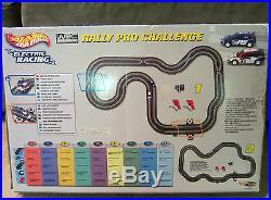 Hot Wheels Electric Racing Rally Pro Challenge FIA WRS Racing Track