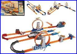 Hot Wheels Track Builder Total Turbo Takeover Track Set Ages 4+ Toy Build Play