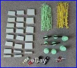 Huge Lot Of 174 Tyco Pro Magnum 440 Race Car Track, Bodies, Parts & Pieces