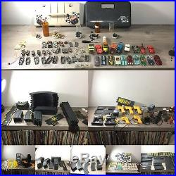 Huge Lot of Various Vintage Slot Cars, Chassiss, Tracks, Parts, Accessories, Etc