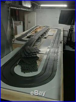 Huge Revell 1/32 slot car track lot