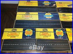 Huge Vintage Aurora Model Motoring Slot Car Track Lot with original boxes