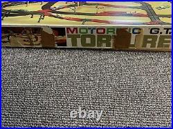 IDEAL MOTORIFIC G. T. O. Torture Track Slot Car Track with Original Box & Three Cars