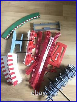 LOT of Scalextric Classic 1/32 Curve Straight Track slot cars Supports Mix AS IS