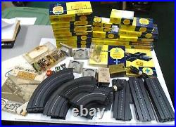Lot of Aurora Thunder Jet Cars Track Parts & Accessories