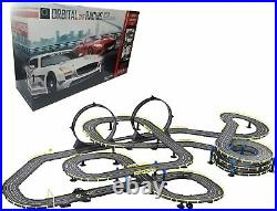 MOTION 143 Remote Control Track Slot Loops Turns Race Car Toy (733 Inch)