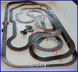Mega 71' AFX Tomy Giant Raceway Track Slot Car Set, 4' x 8' 100% Ready To Use