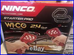 NINCO Wi Co Starter Pro 2.4 Wireless SLOT CAR TRACK NEW OLD STOCK