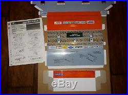 New 2009 Tomy Carroll Shelby Slot Car Racetrack NIB Restoration Hardware