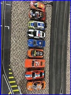 Ninco N-Digital Slot Car Track With Cars
