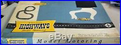 PLAYCRAFT MODEL MOTORING AURORA ORIGINAL #2 HO SLOT TRACK RACE SET 2 Cars TJET