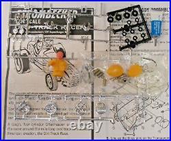 RARE Strombecker #8516 DIRT TRACK RACER boxed 124 COMPLETE slot car kit s1