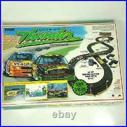 Rare Vintage Tyco Days of Thunder Slot Car Race Track with Box, Accessories