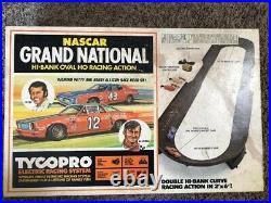 Rare vintage TYCOPRO NASCAR Grand National Slot Car track