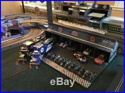 Scalextric 1/32 Digital Race Track, Digital Cars, Scenery, Garages, Oil Signs