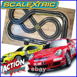 Scalextric 132 Figure-Of-Eight Layout Digital Set ARC Pro With Cars