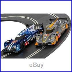 Scalextric 24hr LeMans Ginetta G60-LT-P1 Arc Pro Digital 1/32 Slot Car Track Set