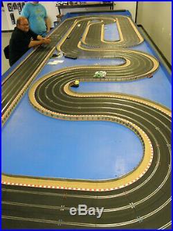 Scalextric 4 Lane Custom Slot Car Track New