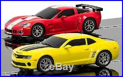 Scalextric American Racers 1/32 Scale Race Track Set C1364