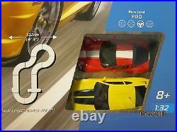 Scalextric American Racers Slot Car Set Camaro Vs Corvette