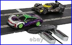 Scalextric C1415 Spark Plug Batman vs Joker Set Control from Android/iPhone