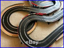 Scalextric Digital Advanced Large Layout with Pit Lane & Pit Lane Game & 4 Cars