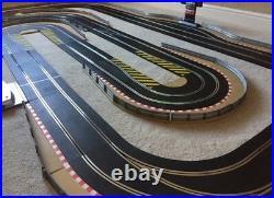 Scalextric Digital Advanced Layout & Pit Lane & Game / 2 Lane Changers & 4 Cars