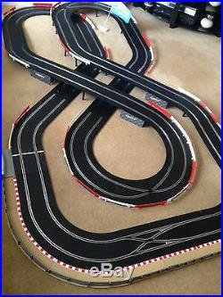 Scalextric Digital Large Layout Double Flyover & 2 Digital Cars Set