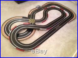 Scalextric Digital Large Layout with Double Loop / Crossover & 2 Cars