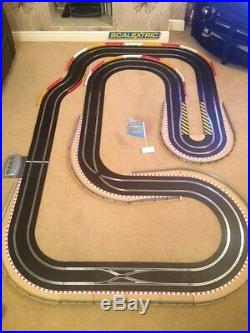 Scalextric Digital Large Layout with Hairpin & 2 Digital Cars Set
