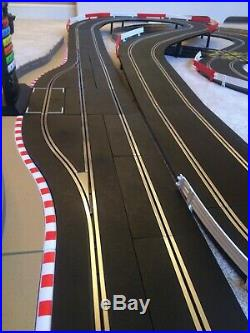 Scalextric Digital Large Layout with Pit Lane Game & 4 Digital Cars Set