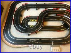 Scalextric Digital Layout + Straight Lane Changer / Hairpin / Flyover & 2 Cars