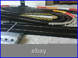 Scalextric Digital Layout with Pit Lane & Game / Double Hairpin & 2 Cars
