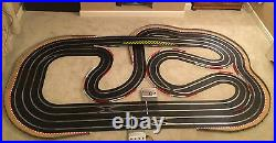 Scalextric Digital (WEMBLEY STADIUM) Very Large Layout With Lap Counter & 4 Cars