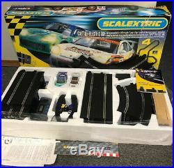 Scalextric LE Mans 24 Racing Race Track Sport Car Advanced LEMANS 24hr Porsche