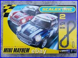 Scalextric Mini Mayhem Number 2 Advanced Track System Excellent Condition