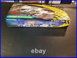 Scalextric NOS Le Mans 24hr Racing Track with Mercedes Race Slot Car