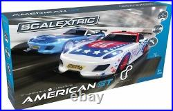 Scalextric Set C1361 American GT Full Size Daytona Race Set with Lap Counter
