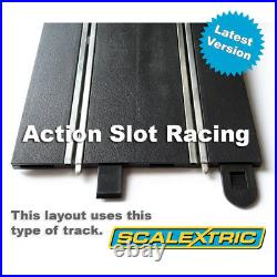 Scalextric Sport 132 Track Set Huge Layout AS8