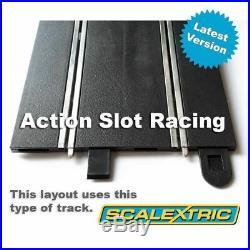 Scalextric Sport 132 Track Set Huge Layout Digital ARC Pro AS5 #Q
