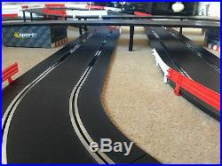 Scalextric Sport Large Layout with Double Flyover / Lap Counter & 2 Cars